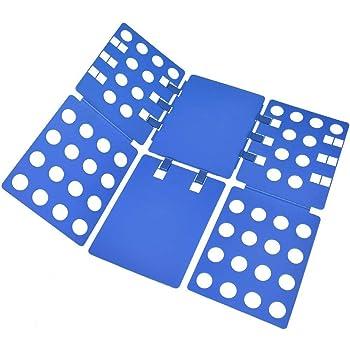 BoxLegend Planche à Plier Le Linge - Pli Linge Planche à Plier vêtements  plieur de Linge 57 x 70 cm Chemise Planche à Plier ca30f6d810b