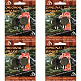 4 Pairs DiscoBrakes Hayes Sole Disc Brake Pads CX GX MX 2 3 4 5 C Cannondale MX2