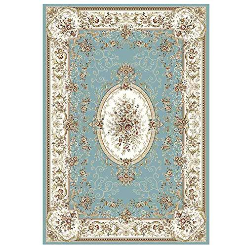 Weich Schaffell Pelz Teppiche Fußboden Matte Faux Wolle rutschfest Betrübt Teppich Dekor Neben Teppich zum Schlafzimmer Wohnzimmer (4 Größen),E,160x230cm -
