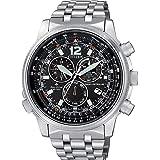 orologio cronografo uomo Citizen Pilot casual cod. CB5860-86E