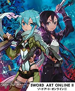 Sword Art Online II - Box #01 (Eps 01-14) (3 Blu-Ray)