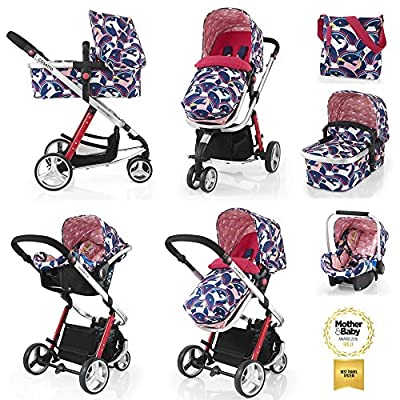 Cosatto Giggle 2 Travel System with Group 0+ Car Seat (Magic Unicorns)