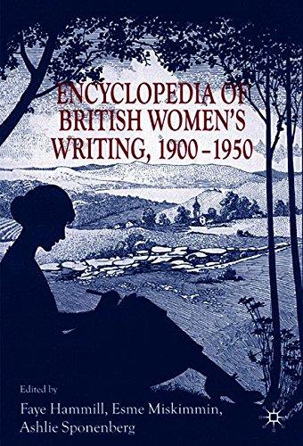 An Encyclopedia of British Women's Writing 1900-1950