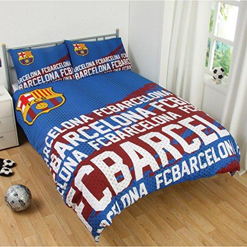 FC Barcelona impacto doble funda de edredón y funda de almohada Set