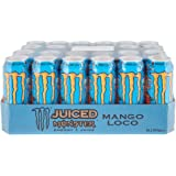 Monster Energy Mango Loco with Tropical Mango Juice With Carbonated Energy Drink Palette 1 x 500 ml