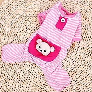 Vêtement de nuit/chemise de nuit/veste de pyjama/pyjama Barboteuse mignon en Coton 3 Couleurs pour Petit Chien