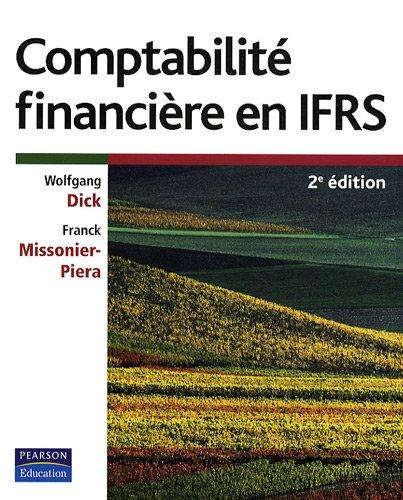 Comptabilite Financière en IFRS 2e ed.