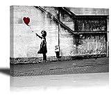 PIY Painting Wasserdichte Bansky Leinwandbild Bilder und Kunstdrucke auf Leinwand