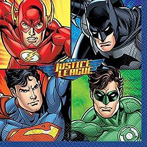 Cartel de cumpleaños de la Liga de la Justicia