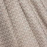 Lorenzo Cana High End Luxus Kaschmir-Decke 100% Kaschmir flauschig weiche Wohndecke Decke handgewebt Sofadecke Kaschmirdecke Wolldecke 96117