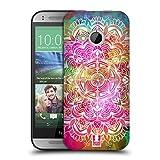 Head Case Designs Wasserfarben Mandala Doodle Ruckseite Hülle für HTC One mini 2