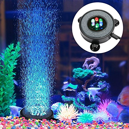Supmaker Aquarium Air Stone Fish Tank Led Air Stone Bubble