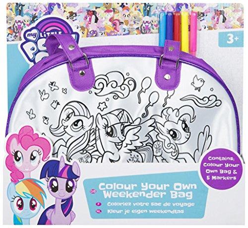 (My Little Pony MLP4–4207Farbe Ihre eigenen Weekender-Tasche, Mehrfarbig)