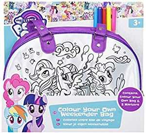 My Little Pony MLP4-4207 - Bolsa de la Compra Personalizada, Multicolor