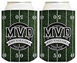 Best Tailgate Games - Funny Beer Coolie MVD Most Valuable Drunk Tailgating Review