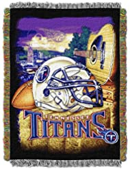 NFL Tennessee Titans Acrylic Tapestry Throw Blanket