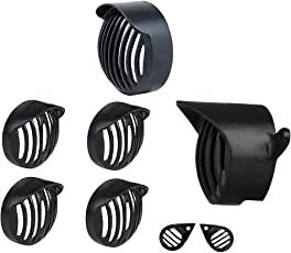 R.J.VON Headlight Heavy Grill Shade,Indicator,Tail,Eyes Grill for Royal Enfield Bullet Classic 350/500/Chrome/Desert Storm.(Set of 8)