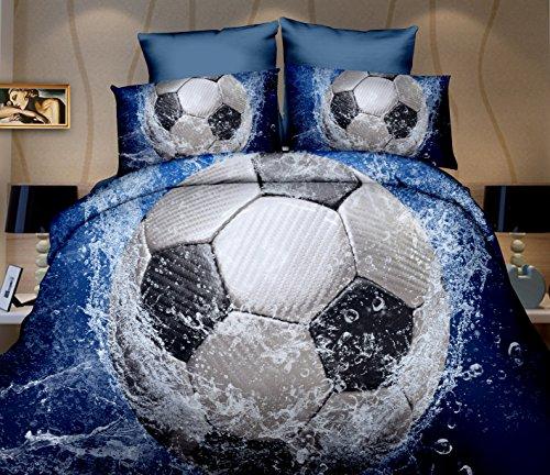 Cotton World 3D Bettwäsche Microfaser Ball im Wasser 135 x 200 cm + 80 x 80 cm