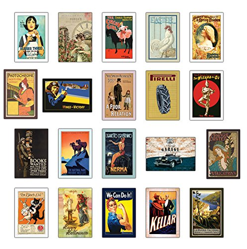 Vintage Postkarten - 20 verschiedene Retro alte Postkarten (Set II)