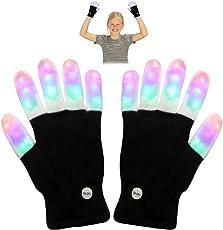 Top Geschenk LED Flashing Handschuhe - Neuheit Spielzeug - Beste Geschenke