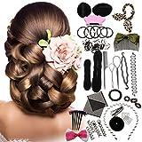 LuckyFine accesorios pernos de pelo accesorios para el cabello style creator tabletas esponja de la espuma del buñuelo del pelo herramientas buena puesta en servicio fold