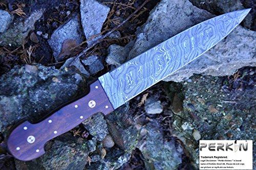 feststehende messer mit scheide damastmesser jagdmesser