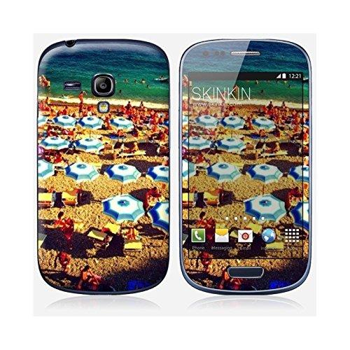Coque iPhone 6 et 6S de chez Skinkin - Design original : Parasols par Pierre-Henry Precigout Skin Samsung Galaxy S3 mini