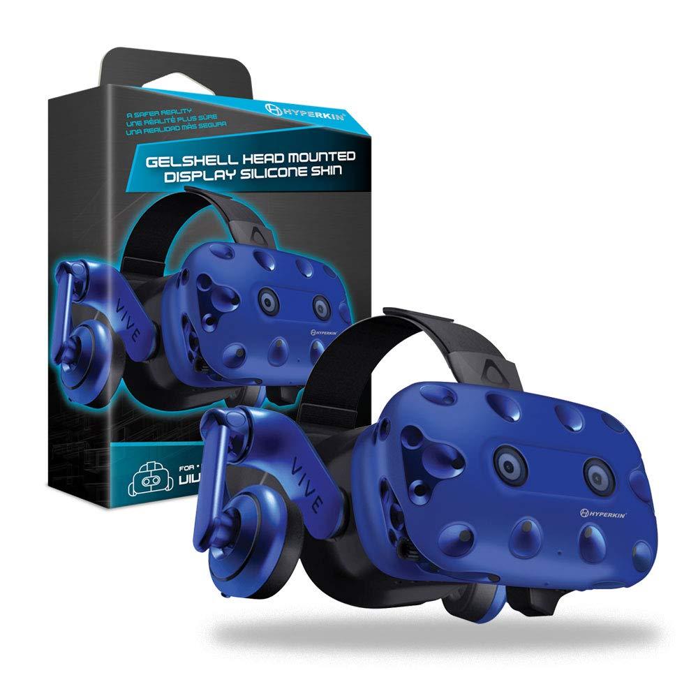 Hyperkin – Housse Silicone Gelshell – Casque VR – Bleu (HTC Vive Pro)