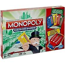 Hasbro Gaming - Monopoly electrónico, juego de mesa (versión en inglés)