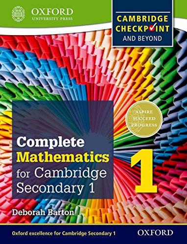 Complete mathematics for Cambridge IGCSE secondary 1. Checkpoint-Student's book. Per la Scuola media. Con espansione online (International Maths)