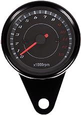 Generic Motorcycle Backlight 12V Tachometer Speedometer Tacho Gauge 0-13000 RPM