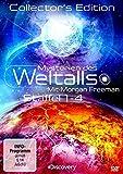 Mysterien des Weltalls - Mit Morgan Freeman, Staffel 1-4 (Collector's Edition, 8 Discs) - Mit Sean Carroll, David Spergel, Janna Levin, Prof. Paul Davies, Will Wright