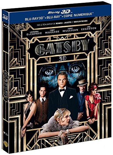 Gatsby le magnifique - Oscar 2014 du Meilleur Décor - Combo Blu-ray + Blu-ray 3D [Combo Blu-ray 3D + Blu-ray + Copie digitale] [Combo Blu-ray 3D + Blu-ray + Copie digitale]
