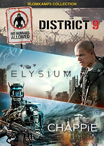 elysium dvd District 9 / Elysium / Chappie [DVD] [2009] by Sharlto Copley