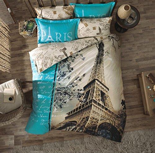 Gold Case Paris Series Tröster Cover Sets–Made in Türkei–100% Baumwolle/Ranforce–Original Artikel