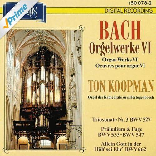 Präludium und Fuge e-Moll BWV 533: Allein Gott in der Höh' sei Ehr' (BWV 662)