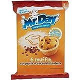 Mr. Day Muffin Con Gocce di Cioccolato, 252g
