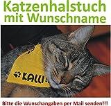 Special-Petshop Katzenhalstuch mit Wunschname - Wunschangaben bitte separat als Mail