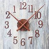 VariousWallClock Wall Clocks Wanduhr Uhren Wecker Uhr Haushalt Pendeluhr Retro- Altes Rostmetallbeschaffenheits-DIY Uhr Kreativ Zeit Wegweiser-Rückseiten-DIY zurück in der Zeit wegzugehen