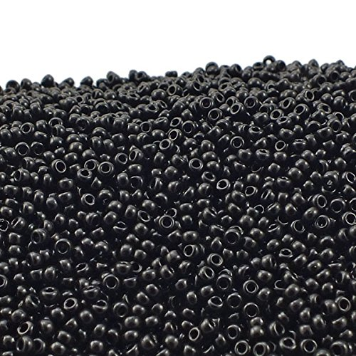 ads, 11/0 Size, 250 Gram Bulk Bag, 401 Opaque Black ()