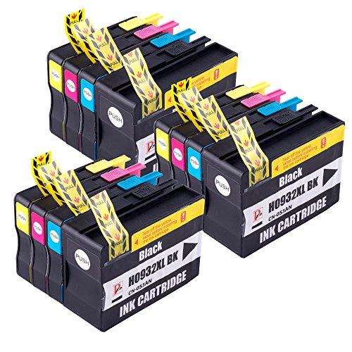 PerfectPrint - 12PerfectPrint cartucho de tinta compatible reemplazar 932X L 933X L para HP OfficeJet 610066006700711076107612