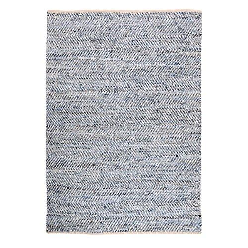 The Rug Republic Tapis Atlas Blanc/Bleu