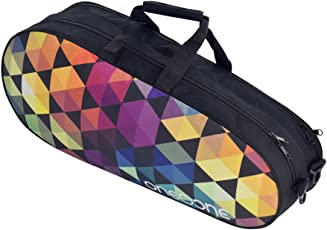 One O One - Canvas Collection Double Compartment - Badminton/Tennis Kitbag