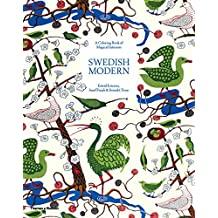 Swedish Modern: A Colouring Book of Magical Interiors: Estrid Ericson, Josef Frank & Svenskt Tenn (Colouring Books)
