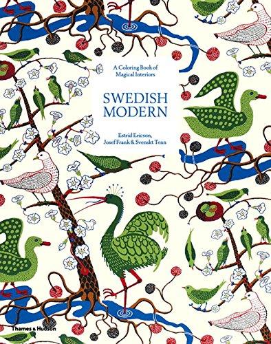 Swedish Modern: A Colouring Book of Magical Interiors: Estrid Ericson, Josef Frank & Svenskt Tenn (Colouring Books) por Janet Colletti