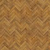 MyTinyWorld Packung mit 5 Stück Puppenhaus Parkett Fußboden 9 Zoll dunkel Honig Oak Streifen Effekt Laken