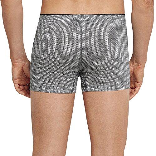 Schiesser Herren Boxershorts Shorts Grau (Graublau 209)