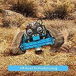 Makeblock-mBot-Ranger-Kit-Robot-programmabile-per-Bambini-per-Imparare-la-codifica-Kit-Robot-educativo-3-in-1-Tre-Moduli-Versione-Bluetooth-Blu-Steam-Education