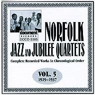 Norfolk Jazz And Jubilee Quartet Vol. 5 (1929-1937)