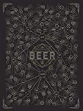 Le molte varietà di birra dal laboratorio di pop chart - Dark / 18x24 - Unframed Poster